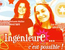 Ordre des ingénieurs du Québec – microsite «Filles de génie»